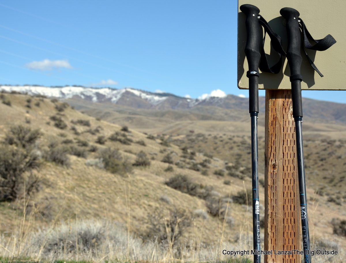 REI Flash Folding Trekking Poles.