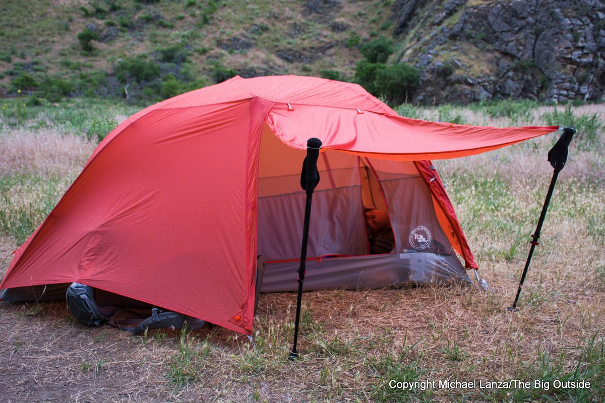 Big Agnes Copper Spur HV UL2 awning.
