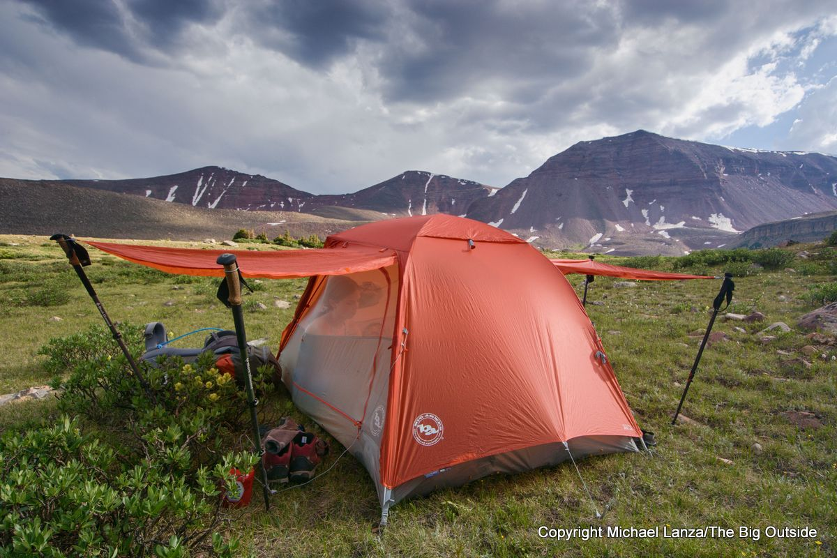 The Big Agnes Copper Spur HV UL2 in Utah's High Uintas Wilderness.