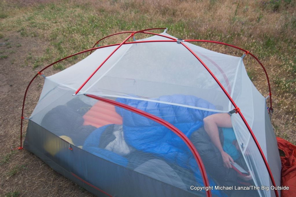 Big Agnes Copper Spur HV UL2 poles.