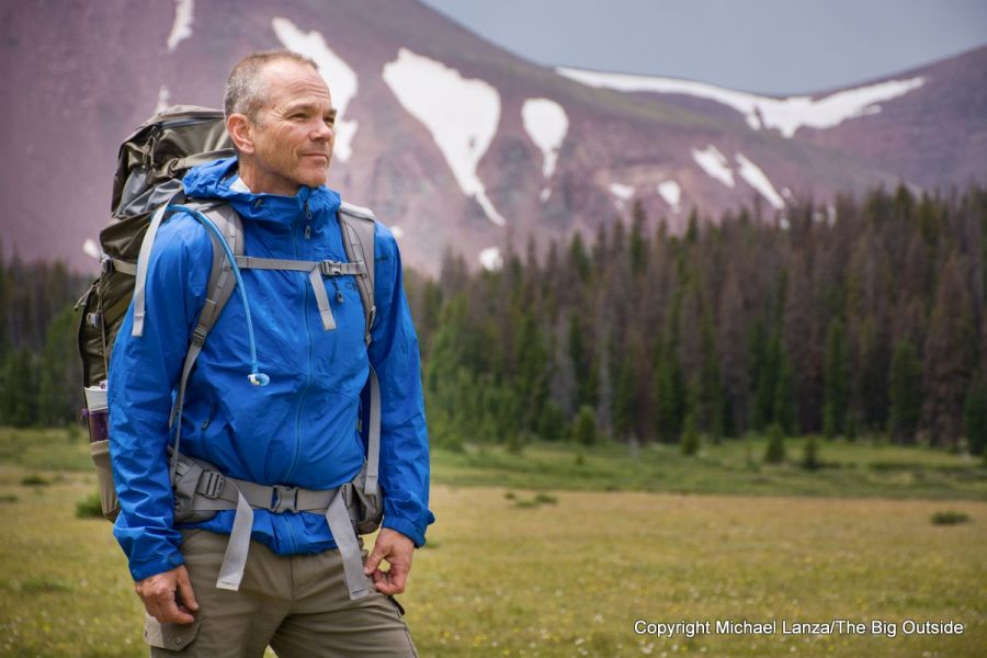 Testing the Outdoor Research Interstellar Jacket in the High Uintas Wilderness.