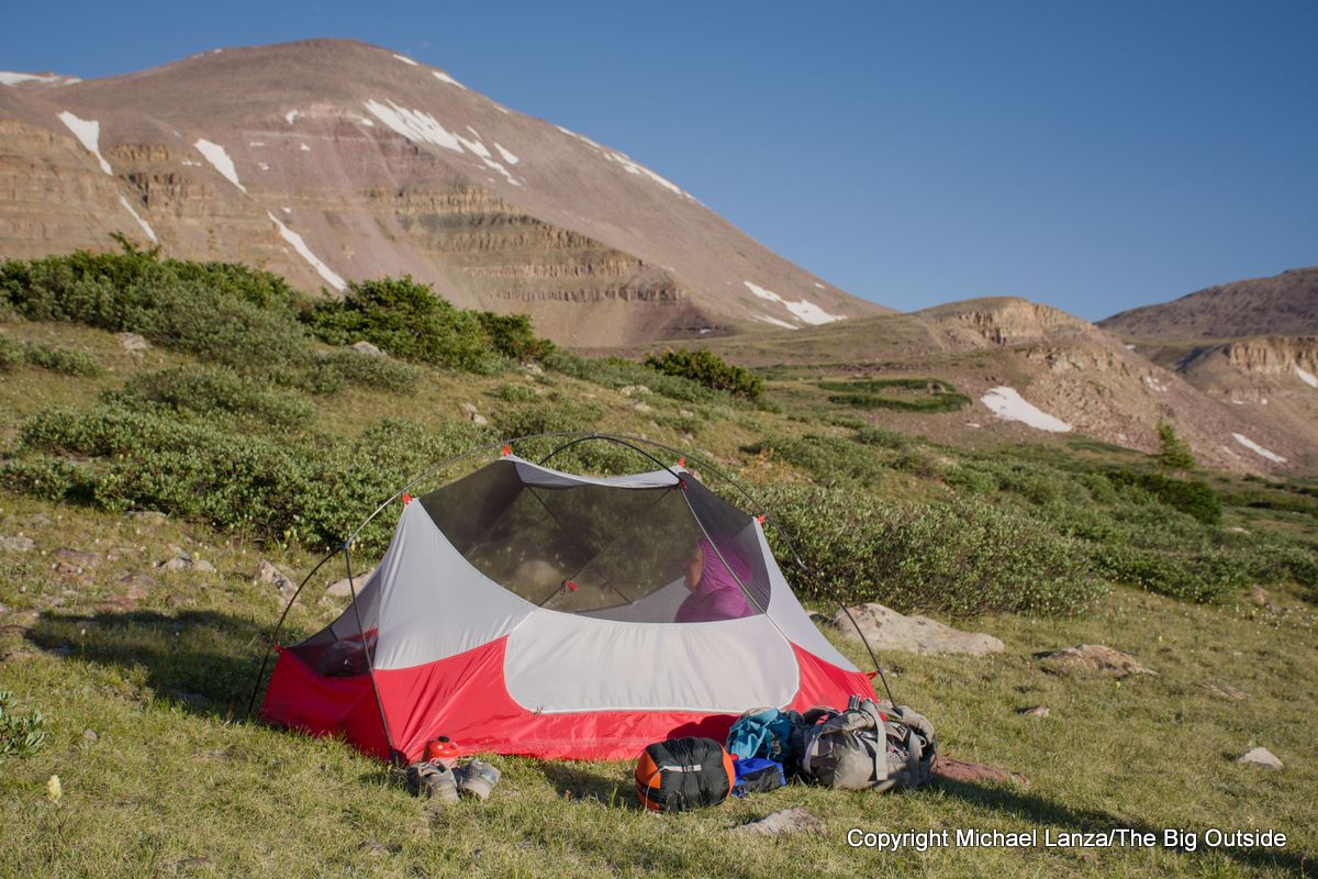 MSR Hubba Hubba NX 2-person backpacking tent.