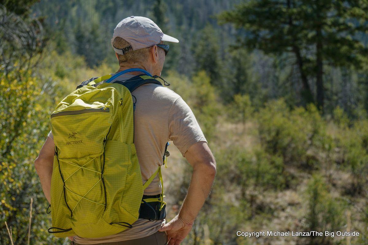 Arc'teryx Aerios 30 hiking daypack.