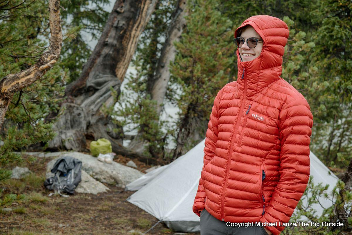 Rab Microlight Alpine Down Jacket.