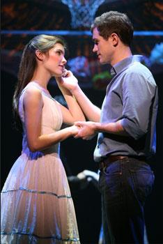 Josefina Scaglione (Maria) and Matt Cavenaugh (Tony)