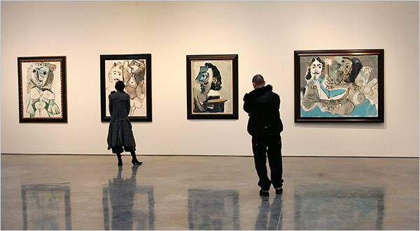 Picasso at the Gagosian Gallery