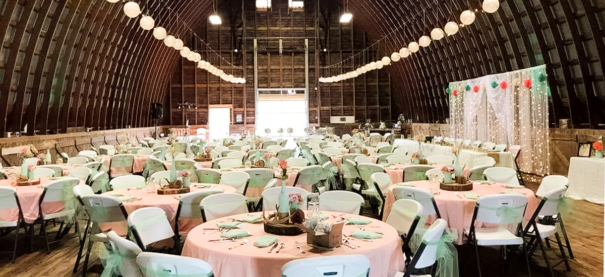 Fresh Wedding Reception Halls Near Me: The Big Red Barn At The Farm