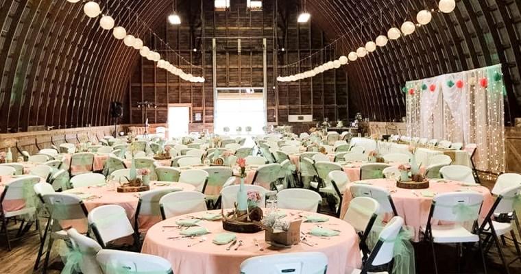 Fresh Wedding Reception Halls Near Me: The Big Red Barn At The Farm