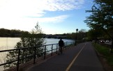 A perfect spring night on the Schuylkill
