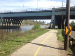 Schuylkill Bike/Run Pathway coming back from what would be a 7 mile run