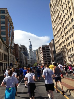 Approaching City Hall