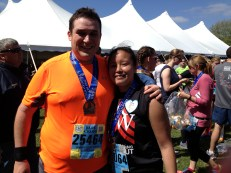 Me and Jess. Finished and proud