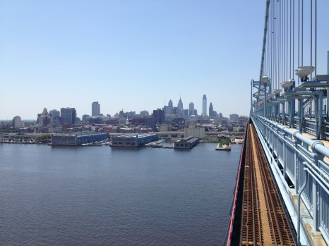 Sweet view of Philly