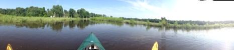 widescreen shot of the lake