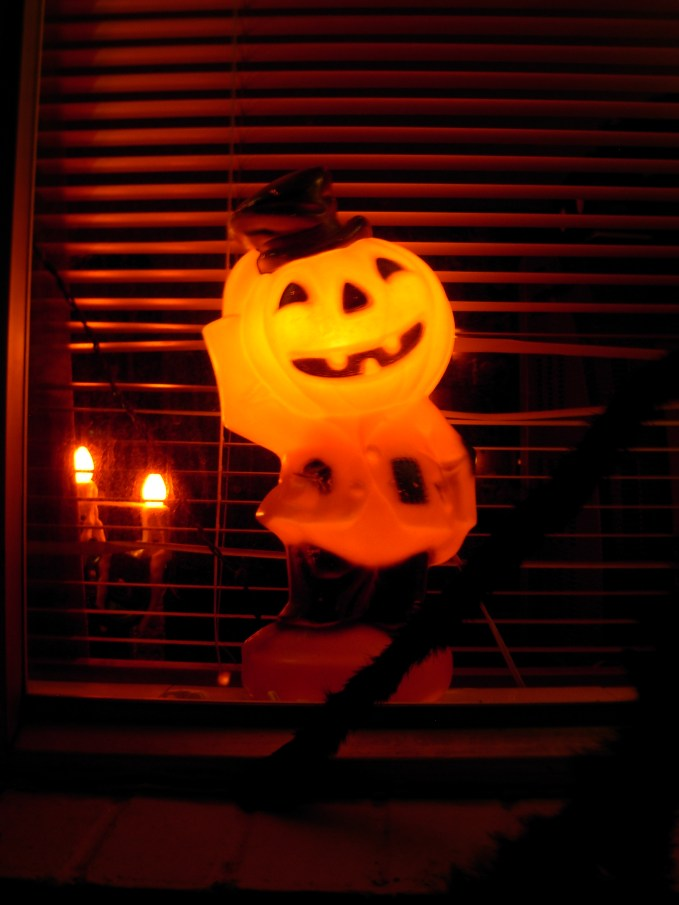 Hobo Jack O'Lantern Vintage Pumpkin Blow Mold