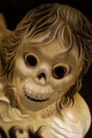 Blow Mold Graveyard Skeleton