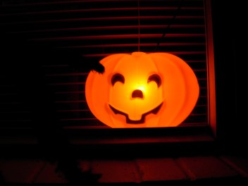 Pumpkin Blow Mold - Vintage Halloween