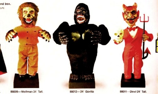 Wolfman, Gorilla, and Devil (1988 Telco Catalog Images)
