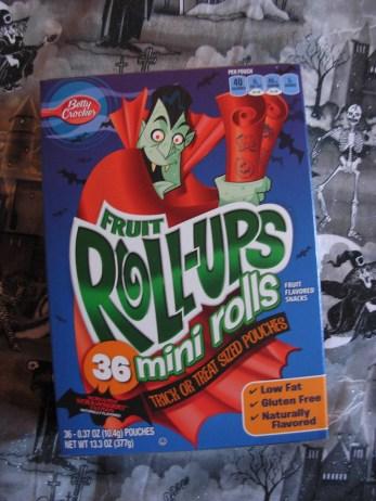 Halloween Fruit Roll-Ups