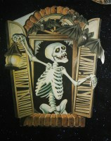 Skeleton in Window