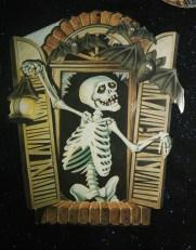 Skeleton in Window