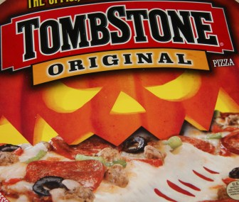 Tombstone Halloween Pizza