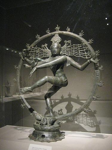 Dance of Nataraja is the snapshot of forcefields of Rudra