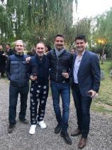 Eduardo Gimenez Riili, Daniel Genovesi, Pablo Gimenez Riili y Federico Gimenez Riili