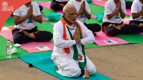 international-yoga-day-prime-minister-of-india-bihar-news