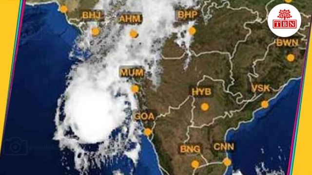 TBN-Cyclonic-storm-'Okhi'-has-now-turned-to-Mumbai-the-bihar-news