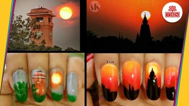 Rajni shows beauty of Patna with Nail Art-The-Bihar-News