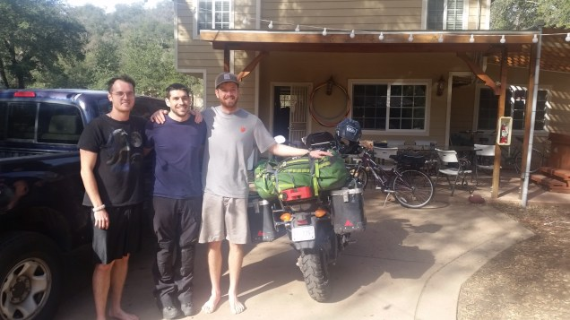 Living differently, Josh headed to South America.
