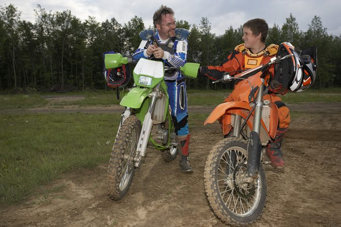 Teenager to Get a Motorcycle