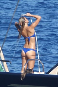 Bar Refaeli-Blue-Thong-Bikini