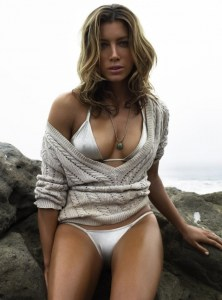 Jessica Biel-Sexy-White-Bikini