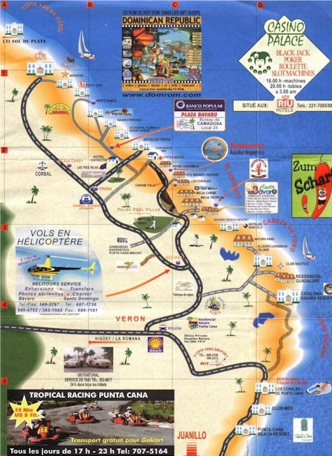 Punta Cana Activity Map