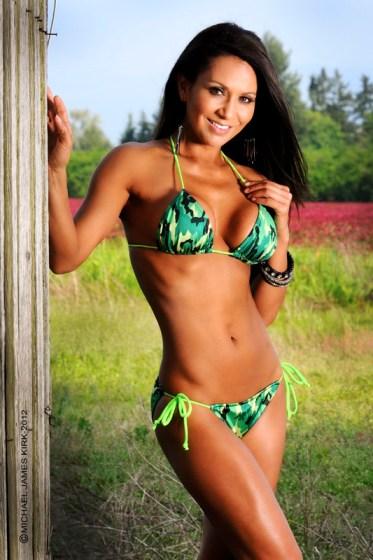 Camo String Bikini