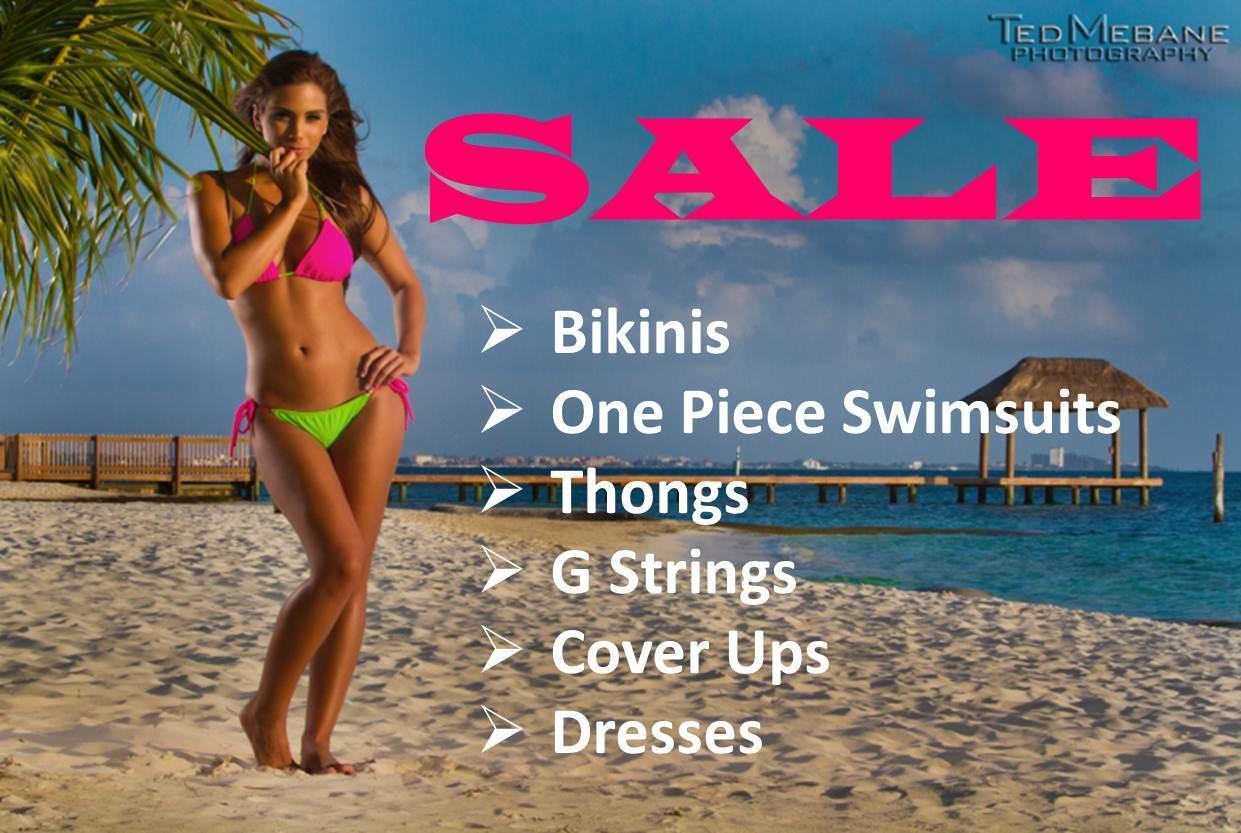 SALE - Bikinis, One Piece Swimsuits, Cover Ups, Dresses