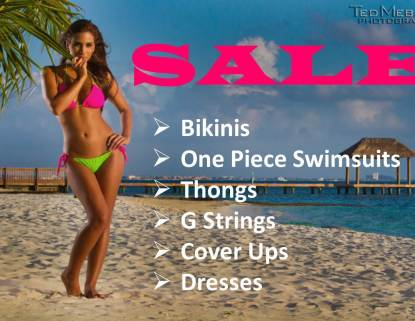 SALE - Bikinis, One Piece Swimsuits, Cover Ups, Dresses
