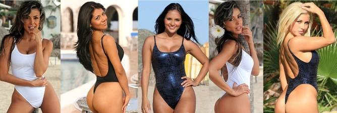 The Most Popular Swimwear This Summer Tonga One Piece Thong Swimsuits
