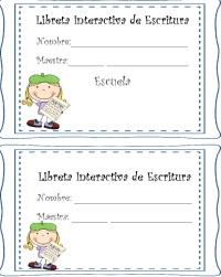 Interactive Writing Notebook Labels