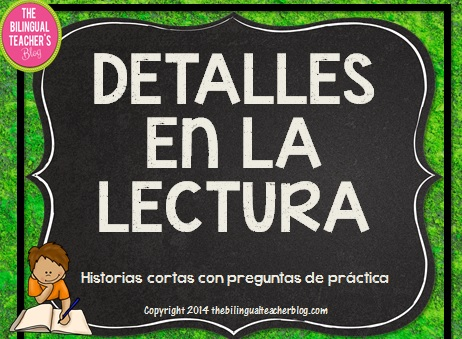 Reading Details in Spanish cover