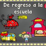 Back to school in SpanishSquareCover