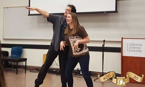 Kingsmen Shakespeare Company Educational Tour [Andy Babinski and Caitlin Arndt]