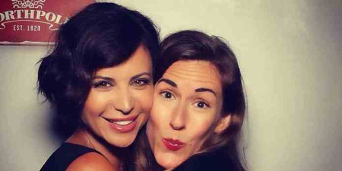 Brooke Daniells and Catherine Bell