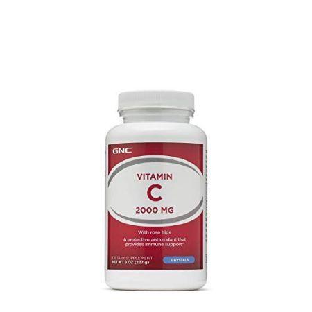 GNC Vitamin C 2000 MG - Crystals (front)
