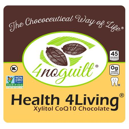 Health 4Living Xylitol CoQ10 Chocolate
