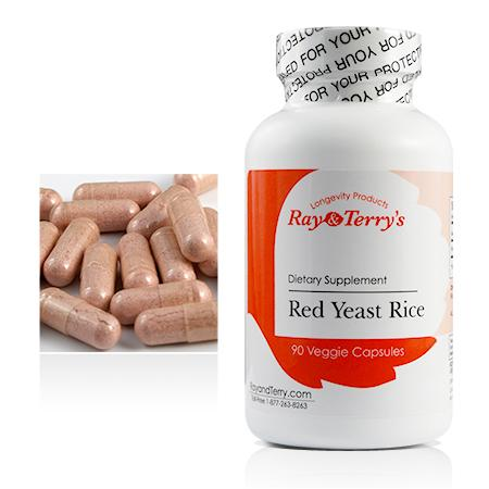 Red Yeast Rice, 900 mg Ray and Terry's