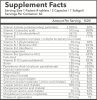 Your Personalized Packets 86.75 Supplement Facts 1