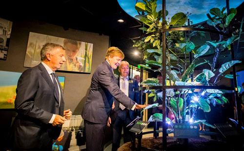 Dutch King opens Koppert Experience Centre